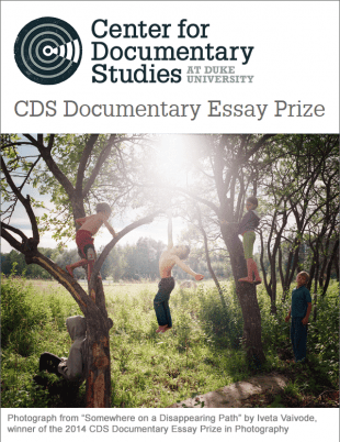 2019 CDS Documentary Essay Prize in Photography