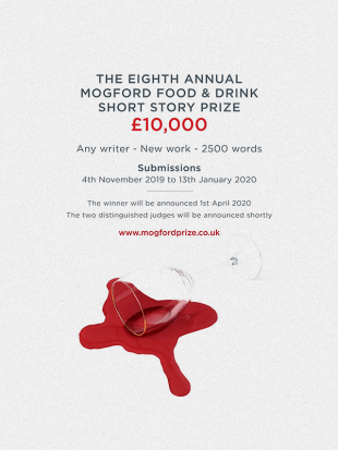 The Mogford Prize for Food and Drink Writing 2020